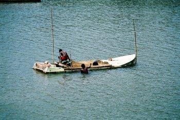 zandwaterboot