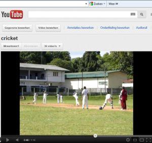 cricketfilmpje